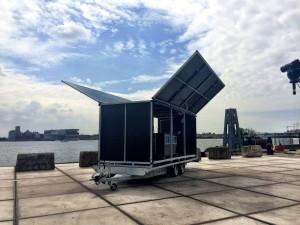 The Solar Transformer - Picture via Spectral Utilities